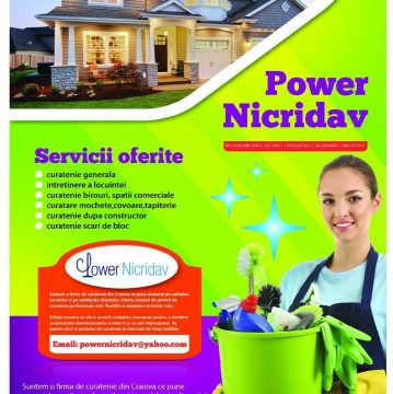 Power Nicridav-Firma de curatenie